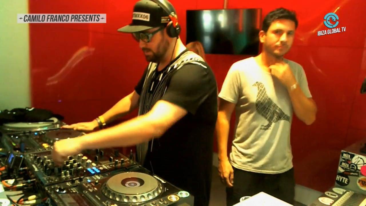 Tapesh @ Camilo Franco by Bench at Ibiza Global TV - Ibiza