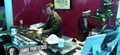 Jamie Porteous @ Futures Radioshow special Christmas by Ibiza Music at Ibiza Global TV